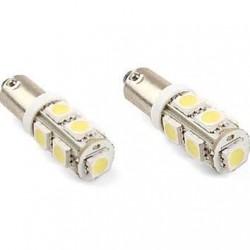 BA9S/233/T4W 9 LED BULBS - (PAIR)