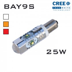 435 - BAY9S/H21W - CREE LED 25W