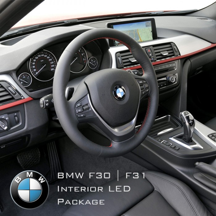 Bmw 3 Series F30  F31 Complete Interior Led Pack