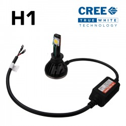 H1 CREE Headlight LED Kit - 2589 Lumens