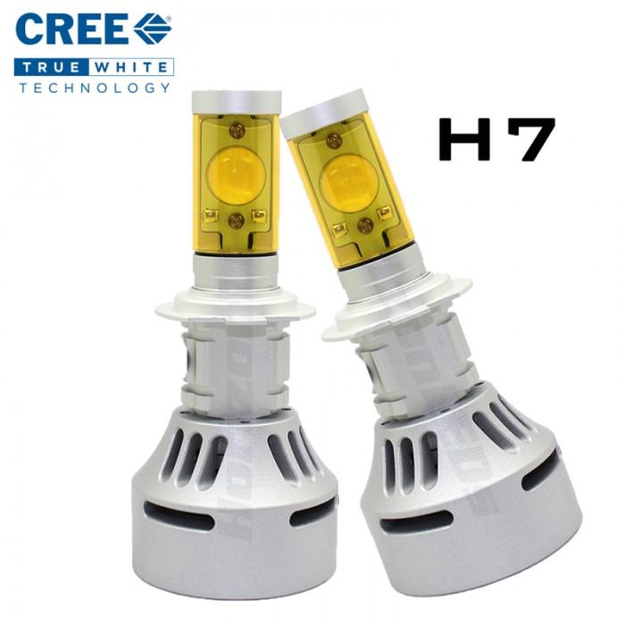 H7 (Hi/Lo) CREE Headlight LED Kit - 3500 Lumens (V2)