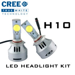 H10 CREE Headlight LED Kit - 3200 Lumens