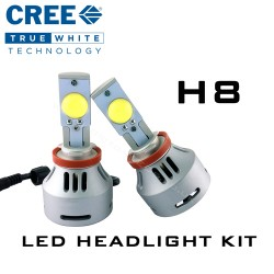 H8 CREE Headlight LED Kit - 3200 Lumens