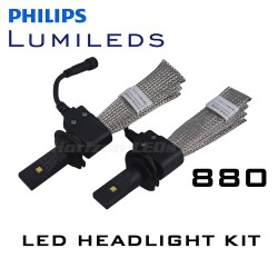 880/PG13 Philips Lumileds LUXEON Headlight LED Kit - 2500 Lumens