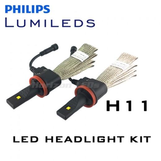 3rd generation h11 philips lumileds luxeon headlight led. Black Bedroom Furniture Sets. Home Design Ideas