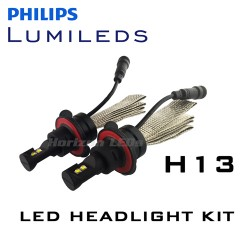 H13 Hi/Lo Philips Lumileds LUXEON Headlight LED Kit - 3000 Lumens