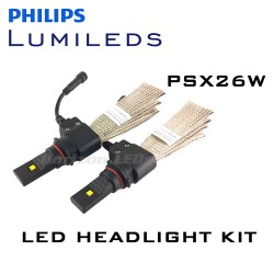 PSX26W Philips Lumileds LUXEON Headlight LED Kit - 2500 Lumens