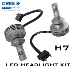 H7 CREE XHP50 LED Headlight Kit - 3000 Lumens