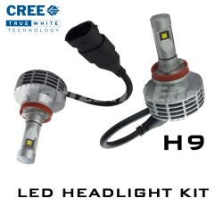 H9 CREE XHP50 LED Headlight Kit - 3000 Lumens