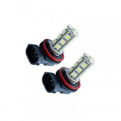 H11 FOG LIGHT LED - 18 LED (PAIR)