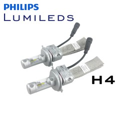 H4 Hi/Lo Philips Lumileds LUXEON Headlight LED Kit - 4000 Lumens V2