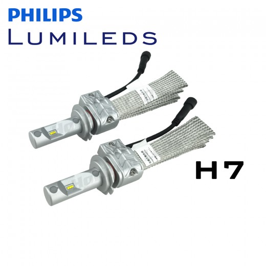 h7 philips lumileds luxeon headlight led kit 4000 lumens v2. Black Bedroom Furniture Sets. Home Design Ideas
