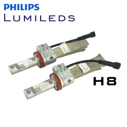 H8 Philips Lumileds LUXEON Headlight LED Kit - 4000 Lumens V2