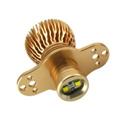 20W E90 HIGH POWER CREE LED - LCI HALOGEN ANGEL EYES (GOLD EDITION)