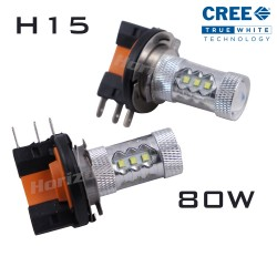 H15 CREE LED 80W (Daytime Running Lights) - PAIR