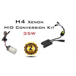 H4 Motorcycle Xenon HID Conversion Kit - 35W