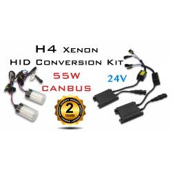 H4 24V CANBUS Truck Xenon HID Conversion Kit - 55W