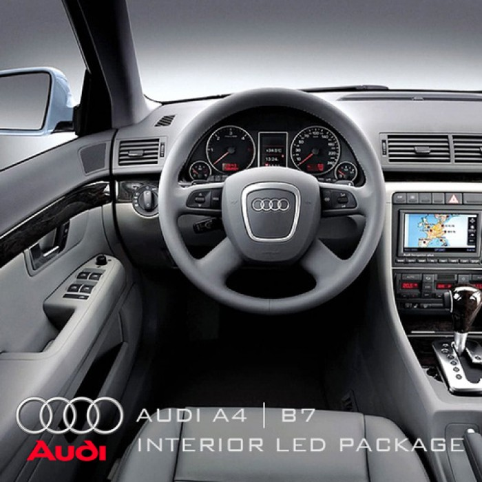 Audi A4 B7 Saloon & Avant Complete Interior LED Pack