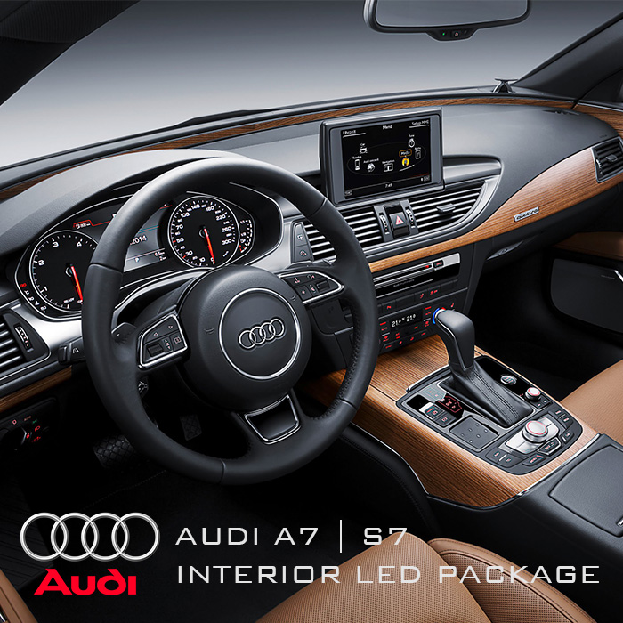 Audi A7/S7 (4G) 2010+ Complete Interior LED Pack