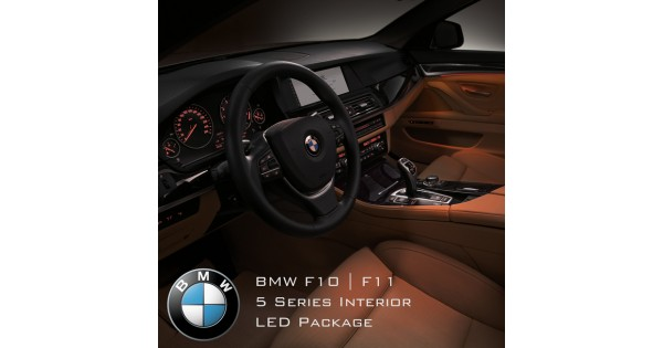 BMW 5 Series F10, F11 Complete Interior LED Pack