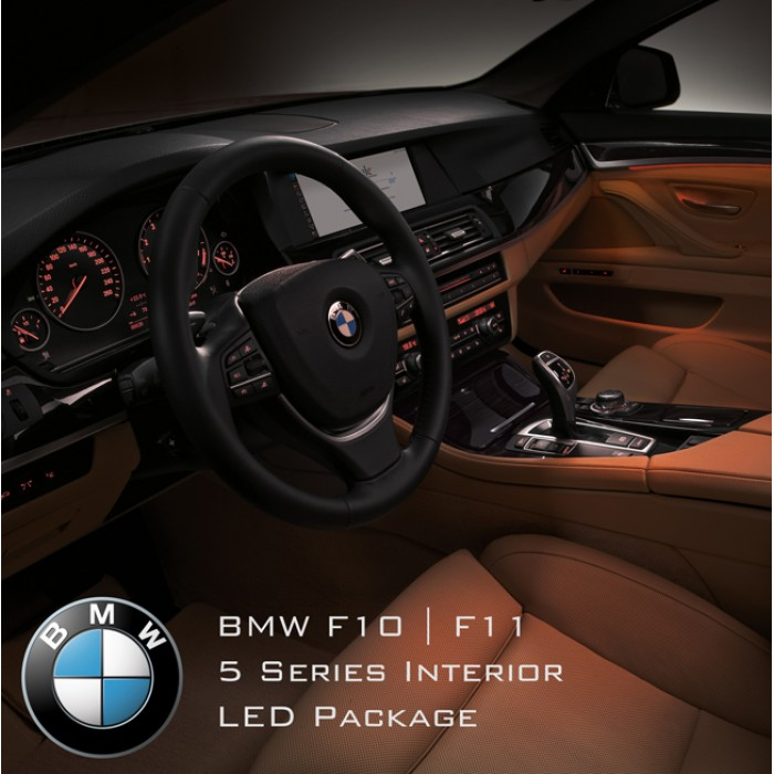 Bmw 5 Series F10 F11 M5 Interior Led Light Kit Complete Overhaul