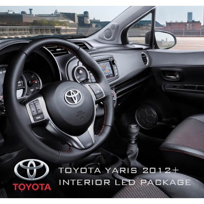 Toyota Yaris 3rd Gen 2012 Xp130 Complete Interior Led Pack