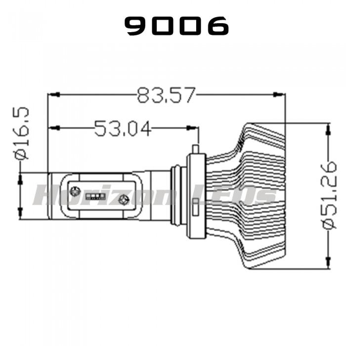 4000 lumens led headlight kit