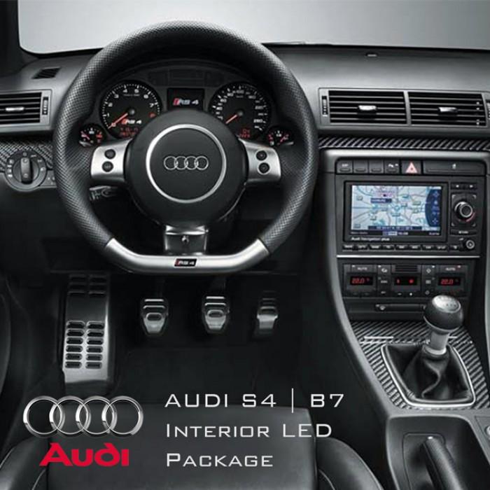 Audi S4 B7 Cabriolet Complete Interior Led Pack