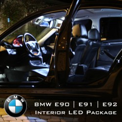 BMW 3 Series E90, E91 & E92 Complete Interior LED Pack