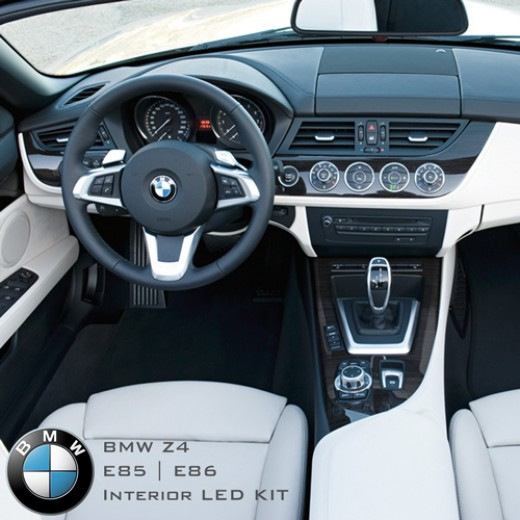 Bmw Z4 2 0 Review: BMW LED PACKAGE/KITS : BMW Z4 E85 & E86 Complete Interior