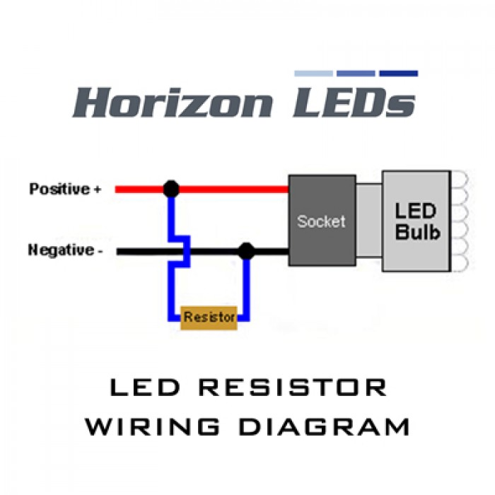 50W LED CANBUS FREE - LOAD RESISTOR KIT