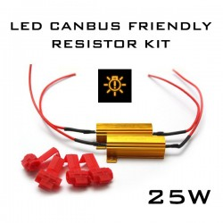 25W LED CANBUS FREE - LOAD RESISTOR KIT