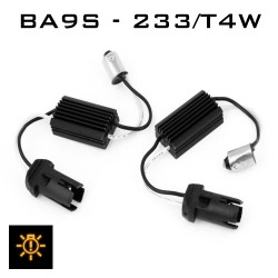 BA9S - 233/T4W LED CANBUS MODULE - ADAPTOR KIT