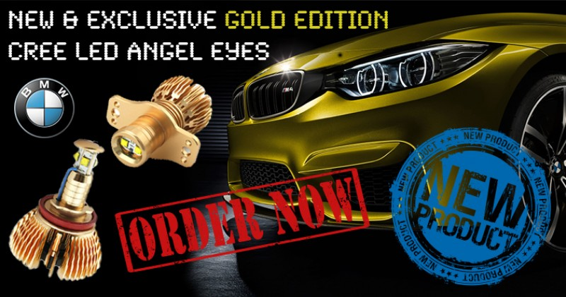 BMW GOLD CREE LED
