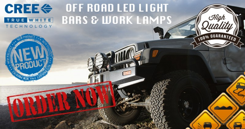 LED LIGHT BARS/WORK LAMPS