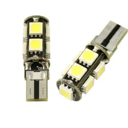 CANBUS T10/501/W5W 9 LED BULBS - PAIR