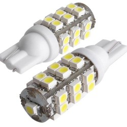 T10/501/W5W 25 LED BULBS - PAIR