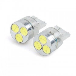 T20/7440 HIGH POWER 3 LED BULBS (PAIR)