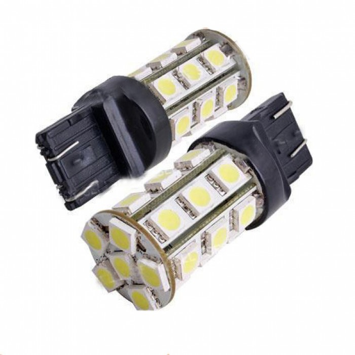 T20  7443 24 Led Bulbs  Pair