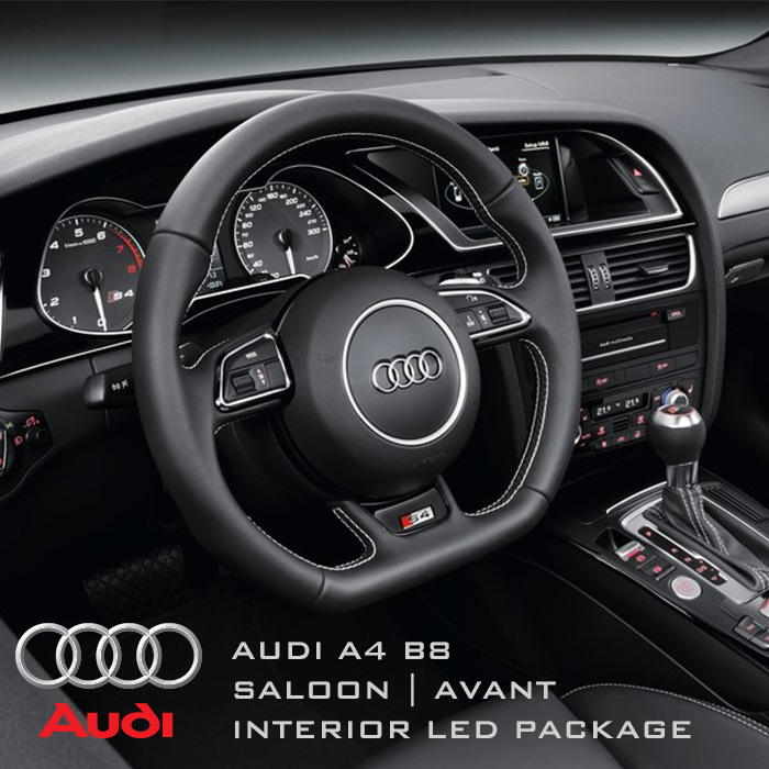 Audi A4 B8 Saloon Amp Avant Complete Interior Led Pack